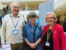 Mike, Chris & Lee manning our table at the Southend Older People's Assembly